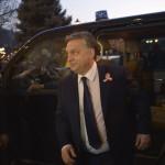 Orbán Viktor miniszterelnök megérkezik a felújított Pesti Vigadó avatására 2014. március 14-én. MTI Fotó: Beliczay László