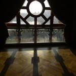 Panorámaablak a felújított Pesti Vigadóban, amelynek átadási ünnepségét 2014. március 14-én este tartják. MTI Fotó: Kovács Tamás