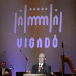 Tarlós István főpolgármester beszédet mond a felújított Pesti Vigadó avatásán 2014. március 14-én. MTI Fotó: Kovács Tamás