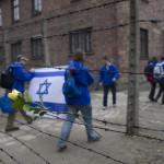 A Nemzetközi Élet Menete 27. alkalommal megrendezett megemlékezése és látogatása az egykori auschwitzi koncentrációs táborban, a lengyelországi Oswiecimben 2014. április 28-án. MTI Fotó: Kallos Bea