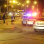 Rendőrségi kordon Budapesten, a IV. kerületi Pozsonyi utcában, ahol női holttestet találtak 2014. április 28-án. A nő halálának okát orvosszakértői vizsgálat tisztázza majd. MTI Fotó: Mihádák Zoltán