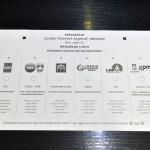 A május 25-ei európai parlamenti választásra készülő szavazólapok mintapéldánya a budapesti ANY Biztonsági Nyomdában 2014. május 7-én. MTI Fotó: Máthé Zoltán