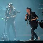 Klaus Meine, a német Scorpions együttes énekese MTI Fotó: Kovács Tamás