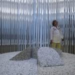 A 14. Velencei Nemzetközi Építészeti Biennále amerikai pavilonja a Giardino kertben 2014. június 6-án. MTI Fotó: Kallos Bea