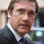 Brüsszel, 2014. június 27.  Pedro Passos Coelho portugál miniszterelnök érkezik az EU-országok állam-, illetve kormányfőinek csúcstalálkozójára Brüsszelben 2014. június 27-én, a találkozó második napján. (MTI/EPA/Stephanie Lecocq)