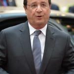 Brüsszel, 2014. június 27.  Francois Hollande francia elnök érkezik az EU-országok állam-, illetve kormányfőinek csúcstalálkozójára Brüsszelben 2014. június 27-én, a találkozó második napján. (MTI/EPA/Stephanie Lecocq)