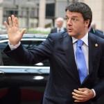 Brüsszel, 2014. június 27.  Matteo Renzi olasz miniszterelnök érkezik az EU-országok állam-, illetve kormányfőinek csúcstalálkozójára Brüsszelben 2014. június 27-én, a találkozó második napján. (MTI/EPA/Stephanie Lecocq)