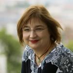 Juhász Borbála, a Magyar Női Érdekérvényesítő Szövetség elnöke a Budapesti Európai Ifjúsági Központban 2014. október 3-án, ahol A nők részvétele a politikában - hazai és nemzetközi körkép a 2014-es parlamenti választások után és az önkormányzati választások előtt című tanácskozáson vett részt. MTI Fotó: Koszticsák Szilárd