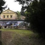 A romos II. kerületi nyári Klebelsberg-rezidencia 2014. október 7-én, ahol sajtótájékoztatót tartottak a rekonstrukció elindulásáról. A pesthidegkúti épület Klebelsberg Kuno egykori kultuszminiszternek állít majd emléket, valamint komplex pedagógus-továbbképzési központként fog üzemelni. A felújítás 700 millió forintos állami beruházásból valósul meg. MTI Fotó: Kovács Attila