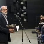 Ráday Mihály városvédő, a Budapesti Városvédő Egyesület elnöke beszél az Ybl összes - 52 település, 113 épület című kötet bemutatóján a Várkert Bazárban 2014. november 6-án. MTI Fotó: Mohai Balázs