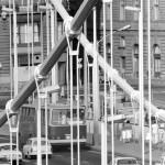 1982. augusztus 10. Autós forgalom az Erzsébet hídon. MTI Fotó: Kozák Albert
