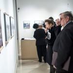 Lezsák Sándor, az Országgyűlés fideszes alelnöke a Nézőpontok - Térhatású fényképek a nagy háborúról című kiállítás megnyitóján a Magyar Nemzeti Múzeumban 2014. december 19-én. MTI Fotó: Marjai János