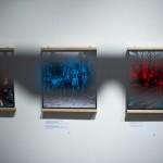 Alkotások a Nézőpontok - Térhatású fényképek a nagy háborúról című kiállítás megnyitóján a Magyar Nemzeti Múzeumban 2014. december 19-én. MTI Fotó: Marjai János