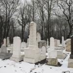 Sírok a Kozma utcai zsidó temető felújított első világháborús hősi parcellájában 2015. január 26-án. MTI Fotó: Koszticsák Szilárd