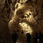 Résztvevők a Tapolcai-tavasbarlang látogatóközpontjának avatásán 2015. január 20-án. MTI Fotó: Nagy Lajos