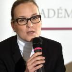 Molnárné Szunyi Barbara, a Pesti Vigadó Nonprofit Kft. ügyvezetője a 150 éves Vigadó ünnepi programsorozatát ismertető sajtóbeszélgetésen a Pesti Vigadóban 2015. január 9-én. MTI Fotó: Kovács Attila