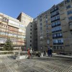 A hatvani Albert Schweitzer Kórház épülő új műtőblokkja 2015. március 9-én. A 2,7 milliárd forintos beruházás részeként az intézmény orvosi eszközparkja is megújul csaknem egymilliárd forint értékben, a berendezések folyamatosan érkeznek. MTI Fotó: Komka Péter