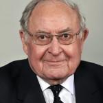 Dr. Tőkés Rudolf, a Connecticuti Egyetem politológusa, professor emeritusa, aki átvette a Széchenyi-díjat az 1848-49-es forradalom és szabadságharc kitörésének évfordulója alkalmából tartott ünnepségen a Parlamentben 2015. március 15-én. MTI Fotó: Kovács Attila