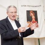 Pápai Lajos győri megyés püspök MTI Fotó: Krizsán Csaba
