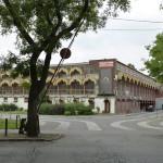 A Liget Budapest projekt keretében megépülő új mélygarázs tervezett helyszíne, a lebontandó Petőfi Csarnok a Városligetben 2014. július 29-én. MTI Fotó: Koszticsák Szilárd