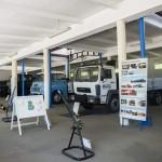 Az újonnan kialakított Csepel-gyártmánymúzeum az ÁTI-Sziget Kft. által működtetett ipari parkban Szigetszentmiklóson 2015. május 19-én. Az egykori Csepel Autógyár területén létrehozott múzeumban gépjárműveket, alkatrészeket, fényképeket és dokumentumokat láthat a közönség.MTI Fotó: Illyés Tibor