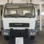 """Csepel """"Toldi"""" D-582.72 típusú darus tehergépkocsi az ÁTI-Sziget Kft. által működtetett ipari parkban kialakított gyártmánymúzeumban Szigetszentmiklóson 2015. május 19-én. Az egykori Csepel Autógyár területén létrehozott múzeumban gépjárműveket, alkatrészeket, fényképeket és dokumentumokat láthat a közönség.MTI Fotó: Illyés Tibor"""