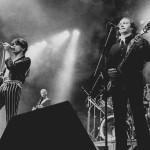 A Karthago együttes koncertjével megnyílt a Városligetben az új ifjúsági szabadidőközpont, a Petőfi Csarnok, közismert nevén a Pecsa 1985. április 2-én. MTI Fotó: Friedmann Endre