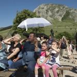 Nézők a második Duna-nap megnyitóján, az erdélyi Torockón 2015. június 6-án. MTI Fotó: Koszticsák Szilárd