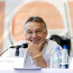 Orbán Viktor miniszterelnök a 26. Bálványosi Nyári Szabadegyetem és Diáktáborban (Tusványos) az erdélyi Tusnádfürdőn 2015. július 25-én. MTI Fotó: Koszticsák Szilárd