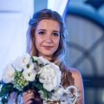 A balatonfüredi Barna Dorina, a 190. Anna-bál első udvarhölgye a balatonfüredi Anna Grand Hotelben 2015. július 26-án. MTI Fotó: Bodnár Boglárka