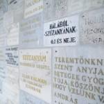 Mátraverebély, 2015. szeptember 4. Emléktáblák a Mátraverebély-Szentkúti Nemzeti Kegyhelyen 2015. szeptember 4-én. MTI Fotó: Komka Péter