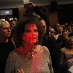 Claudia Cardinale színésznő, a 12. Jameson CineFest Miskolci Nemzetközi Filmfesztivál életműdíjasa megérkezik a fesztivál megnyitóünnepségére 2015. szeptember 11-én. MTI Fotó: Vajda János