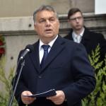Orbán Viktor miniszterelnök beszédet mond a Szovjetunióba hurcolt magyar politikai rabok és kényszermunkások közelgő emléknapja alkalmából tartott megemlékezésen.