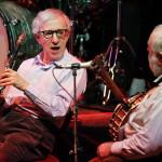 A New Orleans Jazz Band zenekarral Katowicében adott koncertjén 2011. március 24-én. (MTI/EPA/ANDRZEJ GRYGIEL)