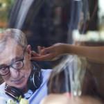 Rómában, a Bop Decameron című filmje rendezésén Rómában az Alfredo étteremben 2011. július 11-én. ((MTI/EPA/Massimo Percossi)