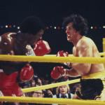 Stallone és ellenfele, Carl Weathers szintén a Rocky első részében. Fotó: UPPA