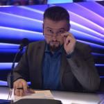 Pierrot zenei producer és előadó, a zsűri tagja az Eurovíziós Dalfesztivál magyar versenye, A Dal 2016 című televíziós show-műsor második középdöntőjében a Médiaszolgáltatás-támogató és Vagyonkezelő Alap (MTVA) óbudai gyártóbázisán 2016. február 20-án. MTI Fotó: Koszticsák Szilárd
