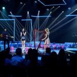 Nizalowski Dorottya (b2) énekel a Passed együttessel az Eurovíziós Dalfesztivál magyar versenye, A Dal 2016 című televíziós show-műsor második középdöntőjében a Médiaszolgáltatás-támogató és Vagyonkezelő Alap (MTVA) óbudai gyártóbázisán 2016. február 20-án. MTI Fotó: Koszticsák Szilárd