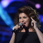 Nika énekel az Eurovíziós Dalfesztivál magyar versenye, A Dal 2016 című televíziós show-műsor második középdöntőjében a Médiaszolgáltatás-támogató és Vagyonkezelő Alap (MTVA) óbudai gyártóbázisán 2016. február 20-án. MTI Fotó: Koszticsák Szilárd