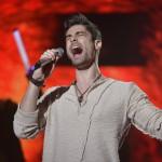 Freddie énekel az Eurovíziós Dalfesztivál magyar versenye, A Dal 2016 című televíziós show-műsor második középdöntőjében a Médiaszolgáltatás-támogató és Vagyonkezelő Alap (MTVA) óbudai gyártóbázisán 2016. február 20-án. MTI Fotó: Koszticsák Szilárd