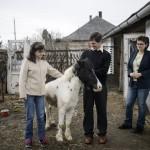 A 20 éves Lövei Petra (b) szüleivel és lovával otthonában, Álmosdon 2016. március 10-én. Családjában második gyermekként derült ki róla, hogy autista. Négy éve a debreceni Kodály Zoltán zeneiskolában tanul hárfa szakon. Célja, hogy sikereket érjen el a zenei pályán és ezzel megmutassa, hogy egy autizmussal élő lány is lehet különleges, egyedi és értékes ember a társadalomban.<br /> MTI Fotó: Komka Péter