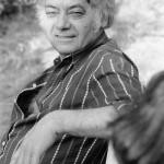 Csoóri Sándor költő hétvégi házának kertjében.<br /> MTI Fotó: Molnár Edit