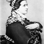 A képen: Jászai Mari Erzsébet királynő szerepében Leube: Essex gróf című színművében.<br /> MTI Fotó: Ráfael Csaba