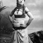 Jászai Mari színésznő, a magyar színházművészet kiemelkedő egyénisége, 1850. február 24-én született Ászáron. Meghalt 1926. október 5-én Budapesten.<br /> A képen: Jászai Mari.<br /> MTI Fotó: Kőrösi Ida