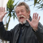 epa05755704 (FILE) - A file picture dated 25 May 2013 shows British actor John Hurt posing during the photocall for 'Only Lovers Left Alive' at the 66th annual Cannes Film Festival in Cannes, France. British actor John Hurt, best known for his role in The Elephant Man, died at the age of 77, his agent announced on 28 January 2017.  EPA/IAN LANGSDON