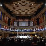 A reformáció 500. évfordulója alkalmából meghirdetett emlékév központi megnyitóünnepsége a budapesti Művészetek Palotájában (Müpa) 2017. január 6-án.<br /> MTI Fotó: Máthé Zoltán