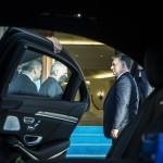 A Miniszterelnöki Sajtóiroda által közreadott képen Orbán Viktor miniszterelnököt (j) fogadja Binali Yildirim török kormányfő (j2) Ankarában 2017. június 29-én.<br /> MTI Fotó: Miniszterelnöki Sajtóiroda / Szecsődi Balázs