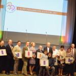 A díjazottak és a jelöltek. Fotó: Három Királyfi, Három Királylány Mozgalom