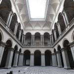 A Szépművészeti Múzeumnak a Liget Budapest Projekt keretében felújítás alatt lévő Reneszánsz csarnoka<br /> (MTI/Máthé Zoltán)