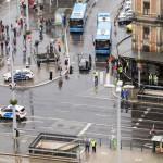 A lezárt Nyugati tér (Fotó: MTI/Mohai Balázs)